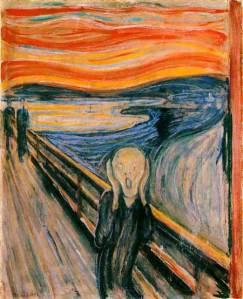"""""""El grito"""" Munch"""